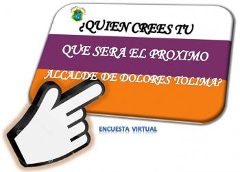 Encuesta Candidatos Alcaldía Municipal Dolores Tolima