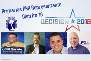 Primarias PNP Representante Distrito 16