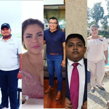 Dirigentes Juvenil en municipio de Pto.Morelos