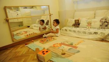 Muebles para niños de 0 a 6 años segun filosofia Montessori